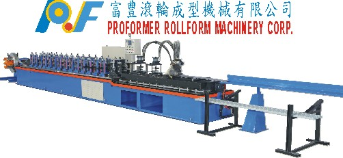 partition roll forming machine